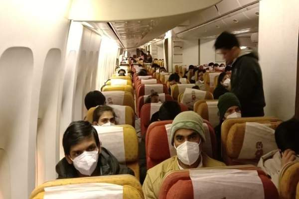 Air India flight carrying 324 Indian nationals1