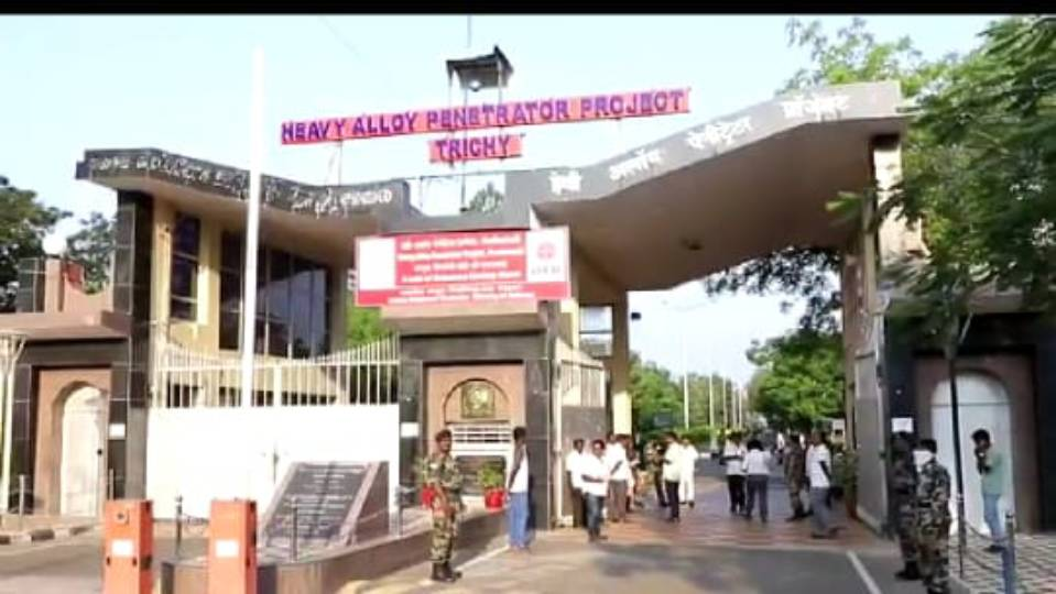 Trichy-the-security-sector-H-A-P-P-action-staff-in-korana-resistant heavy-control-assessment