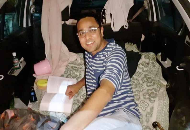 202004110713053971 Bhopal doctor shifts to hotel after car quarantine SECVPF