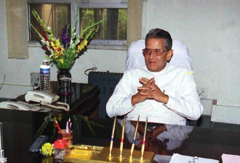 Former Union Minister of State for Congress M.V. Rajasekharan dies from lack of health ...