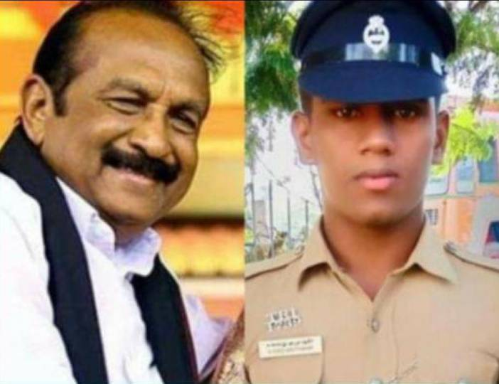 trichy-manaparai-police-helps-pregnent-lady acclaimed vaiko