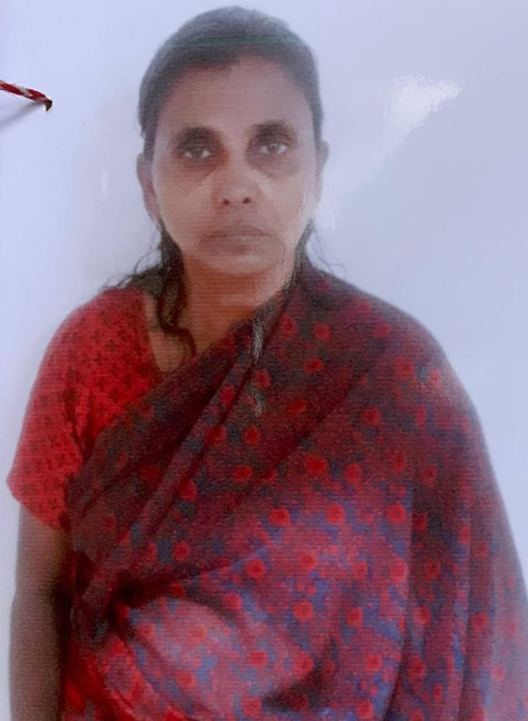 mother sagayarani